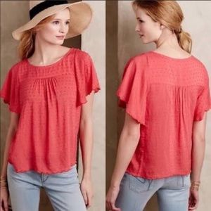 Maeve Swiss Dot Blouse
